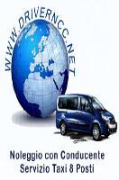 Noleggio Minivan 9 posti con Conducente a Torino