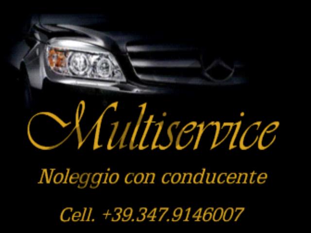 MULTISERVICE noleggio con conducente,ncc ,taxi privato, limusine, mini van
