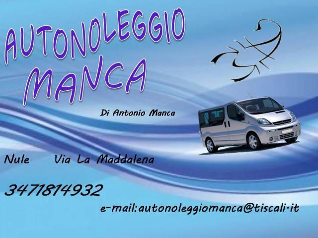 AUTONOLEGGIO MANCA