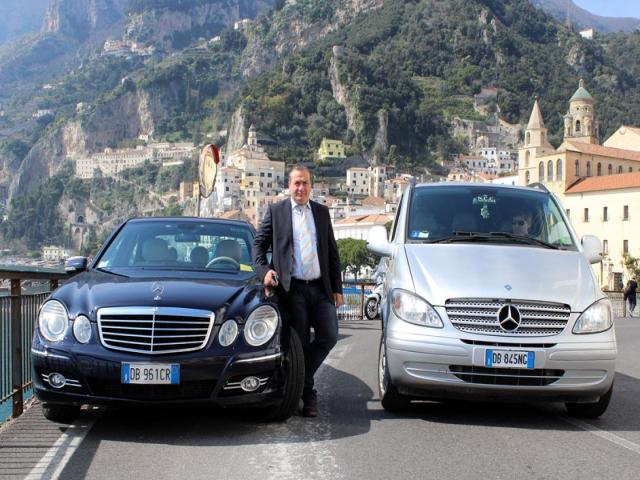 NCC Positano rent car service