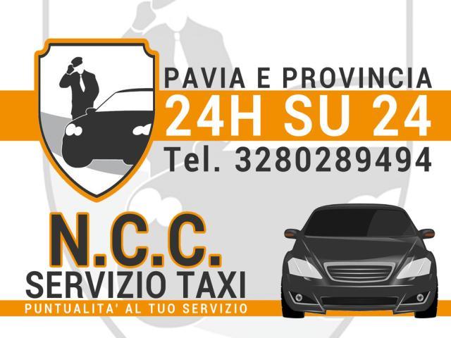 service taxi pavia city