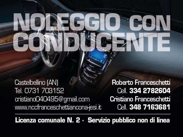 FRANCESCHETTI NOLEGGIO AUTO CON CONDUCENTE JESI - ANCONA
