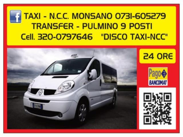 Noleggio Con Conducente mediante Renault Trafic 9 posti