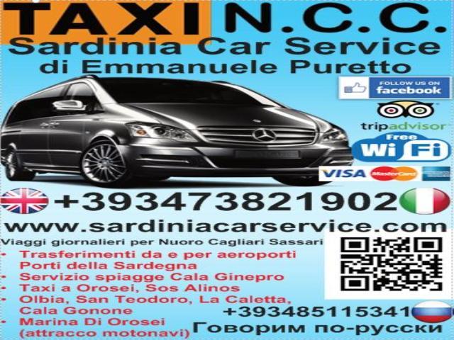 Sardinia Car Service Taxi - Ncc in Sardegna